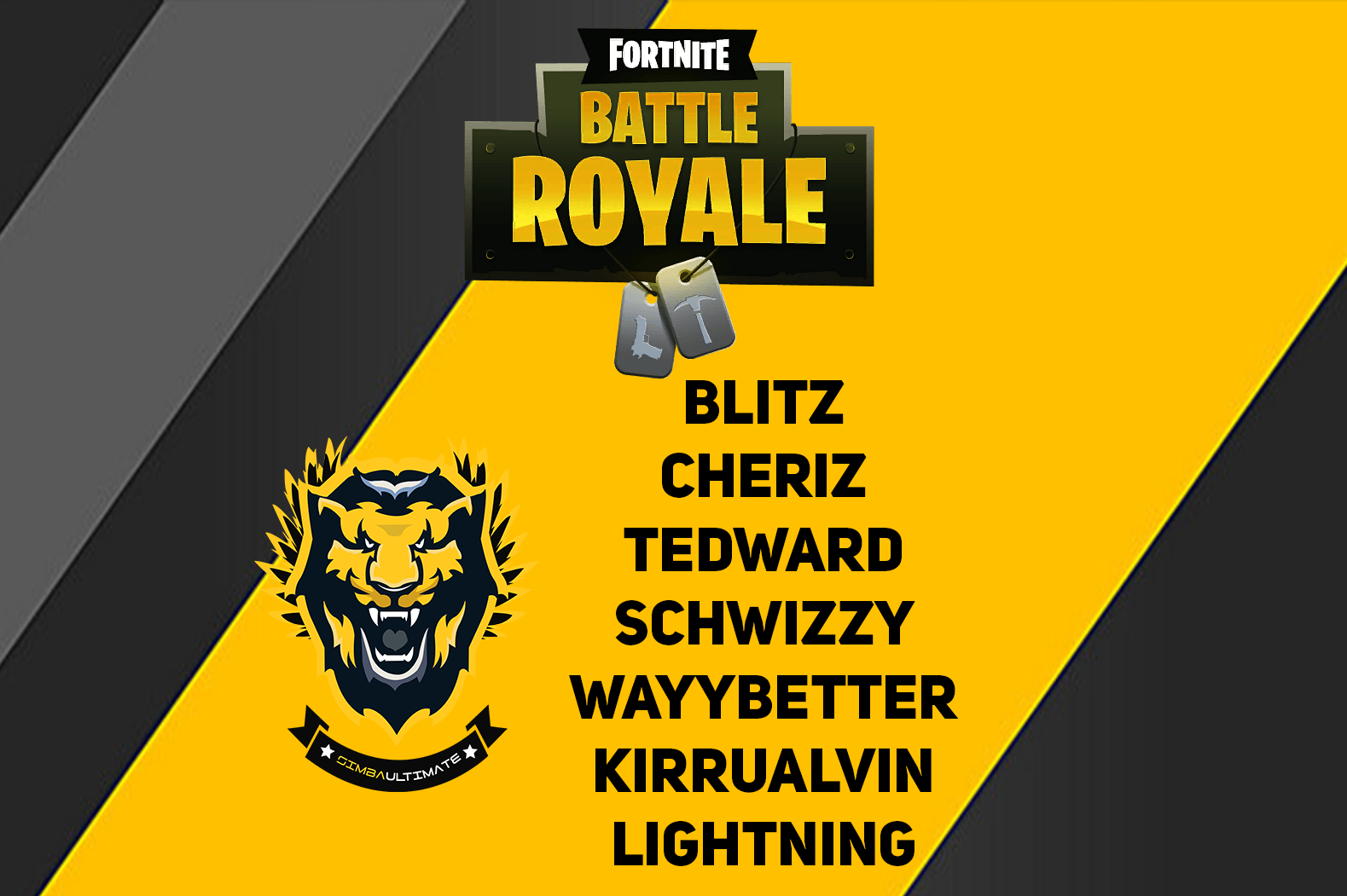 Simba Ultimate Recruits New Fortnite Roster